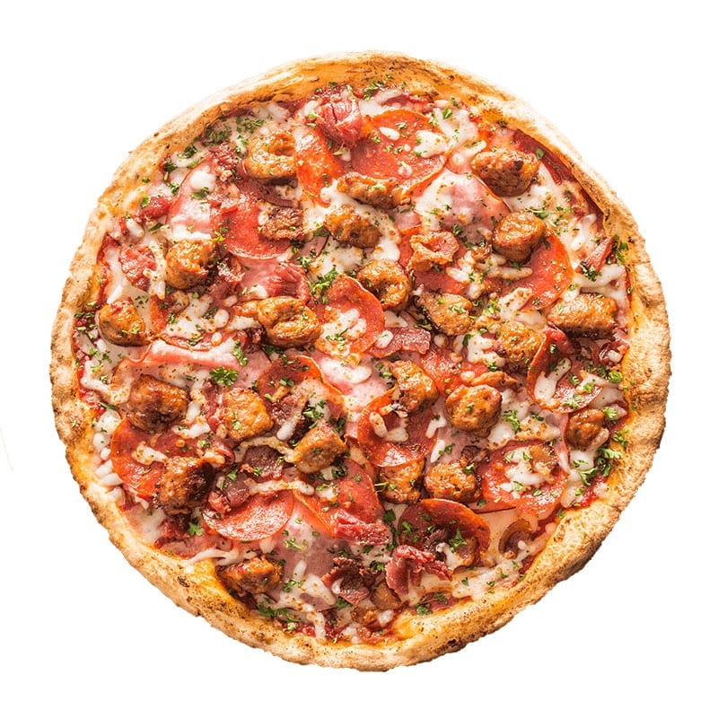 Meat Safari Pizza