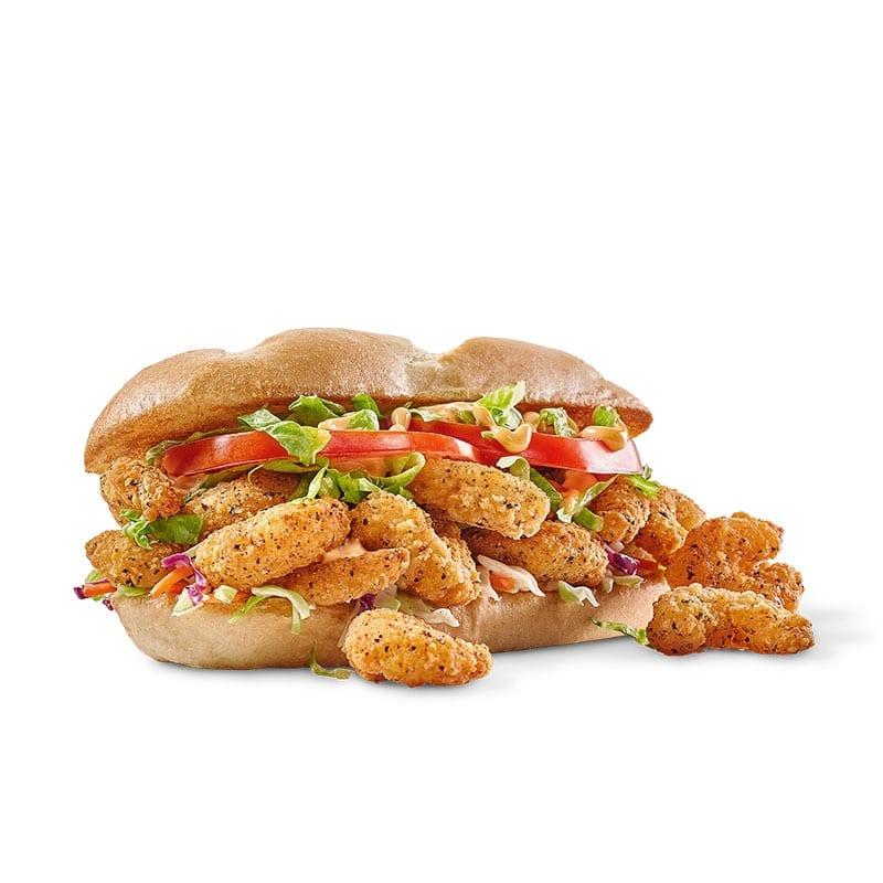 Popcorn Shrimps Sandwich